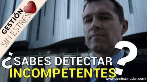 Lista de competencias profesionales - Incompetentes