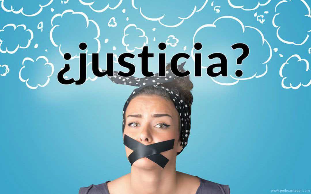 La JUSTICIA no existe - Ejemplo Caso Manada