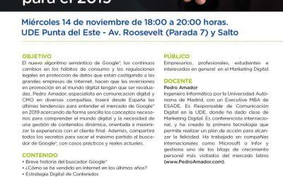 Seminario en Punta del Este – Los secretos del Marketing Digital