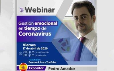 HOY CONFERENCIA: Gestión emocional en tiempos del Coronavirus