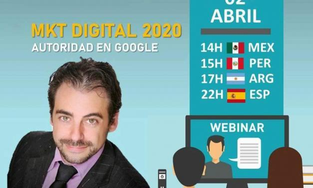 HOY CONFERENCIA Marketing Digital 2020 ⭐