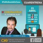 HOY CONFERENCIA: Porqué no he tenido miedo al coronavirus