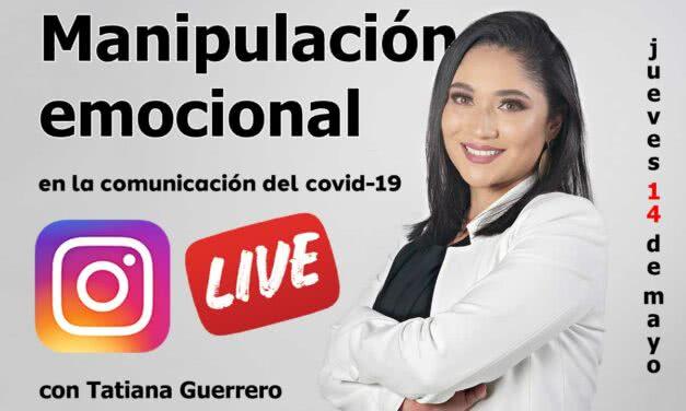 Manipulación emocional en la comunicación del covid-19