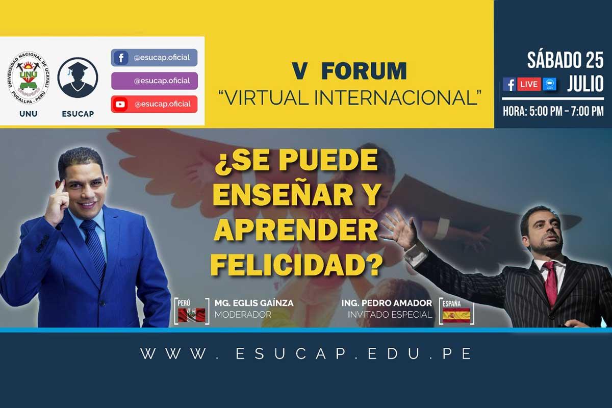 V Forum de Felicidad Perú