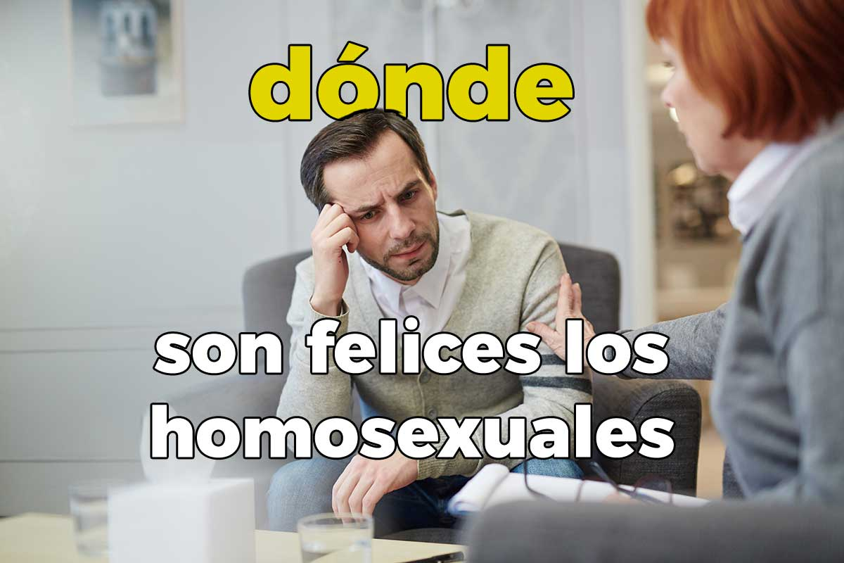 Donde son felices los gays