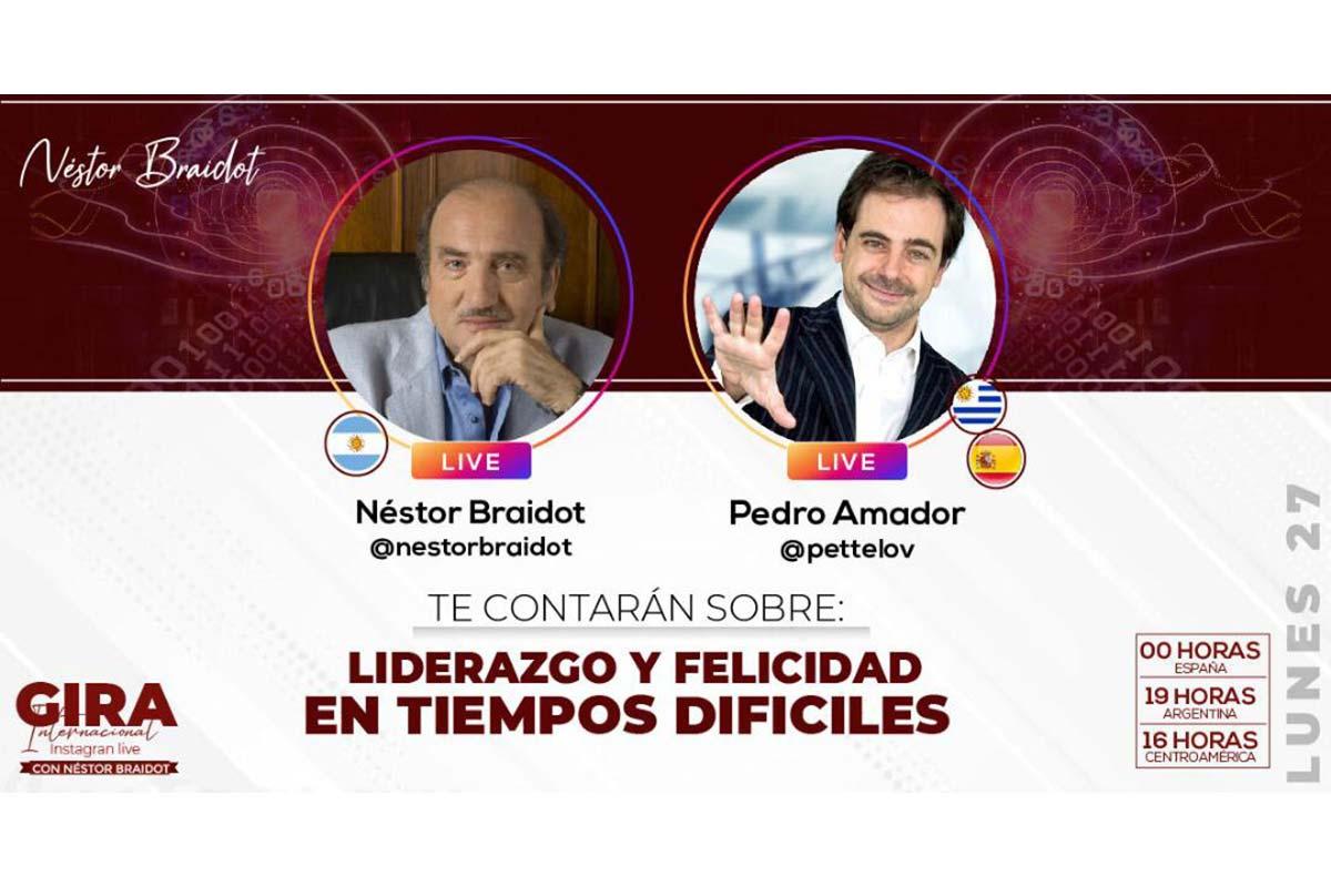 Liderazgo y felicidad como ponente español en Argentina