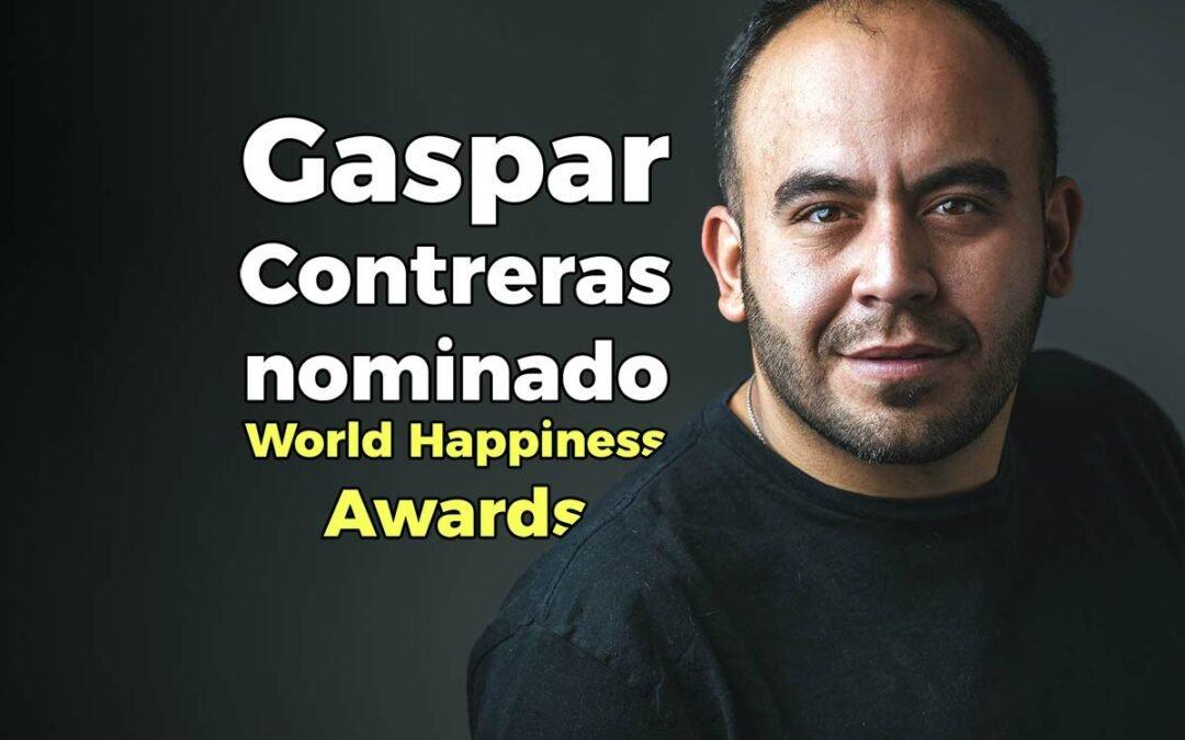 Gaspar Contreras nominado a los premios de la Felicidad de la ONU por su trabajo en las cárceles