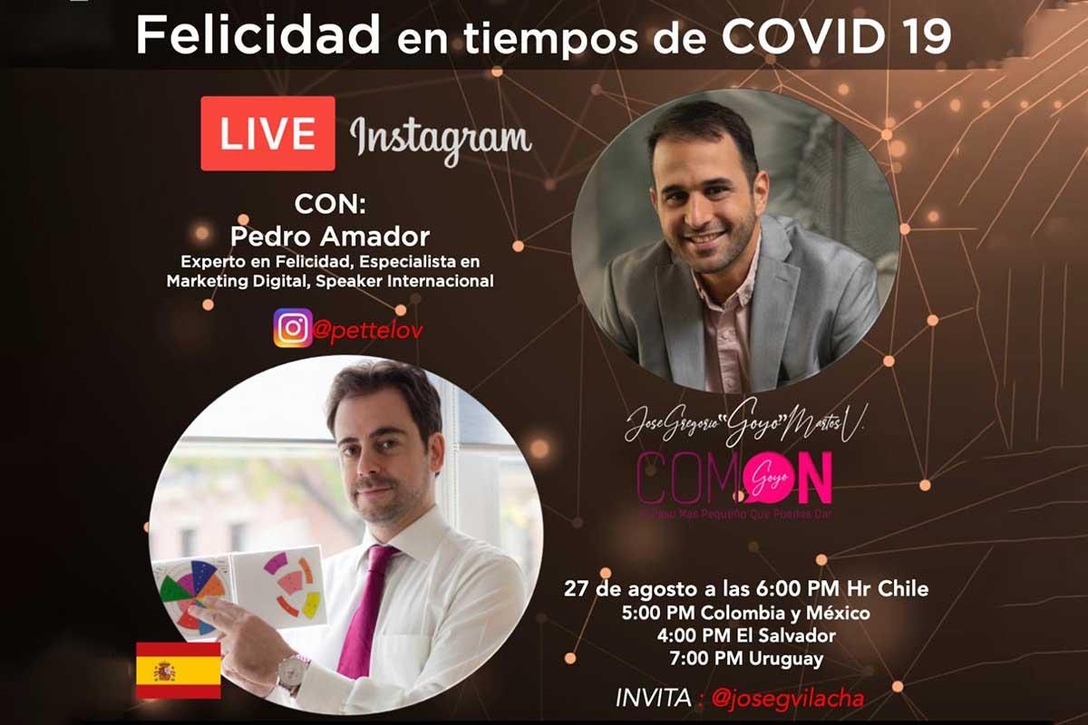 Mejor experto en felicidad como conferenciante en evento de Chile
