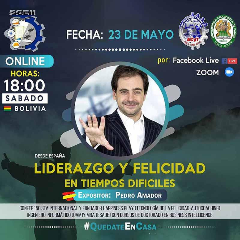 Conferencista Bolivia