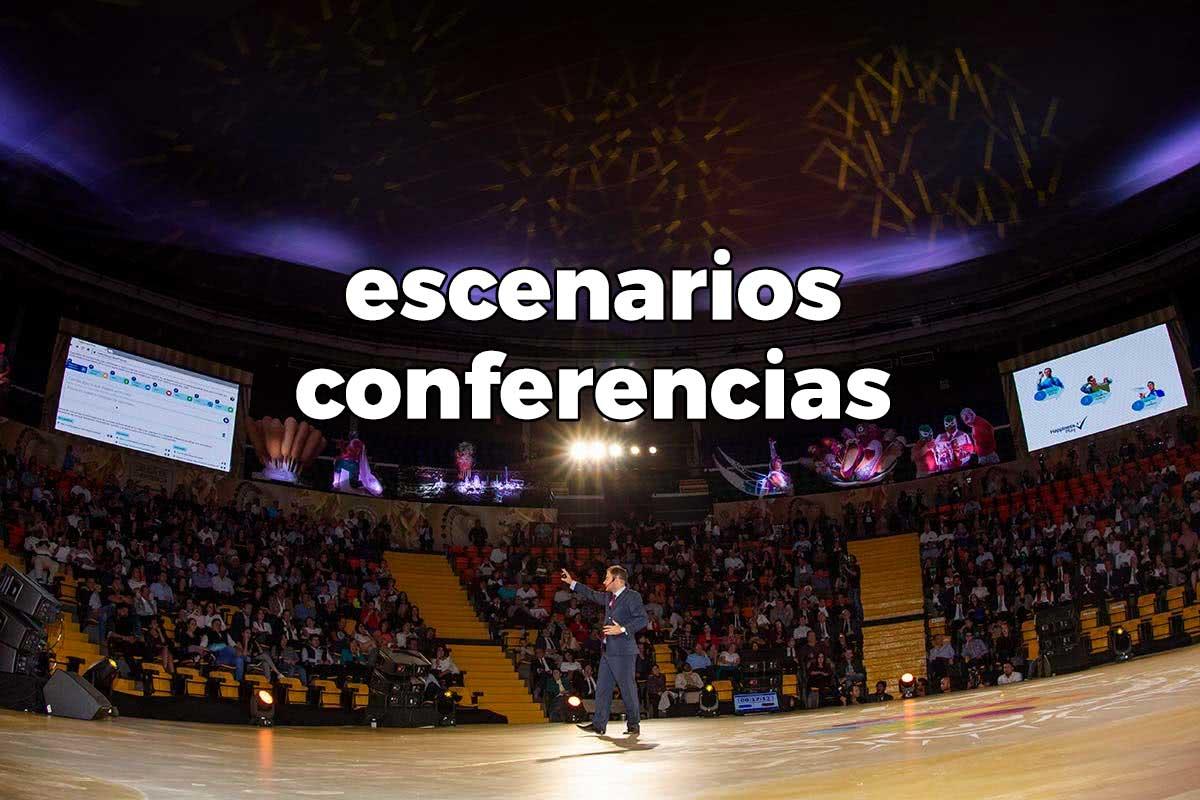 Escenarios conferencias